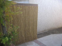 Bamboo Fence Covering